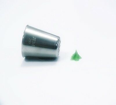 Jem Cake & Sugarcraft - Piping Icing Nozzle - Xmas Tree Tube - No. 250