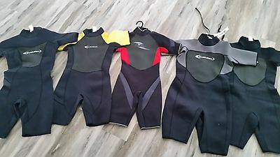 wetsuit spring ski  vel/para/body/evolution heat x 5  new