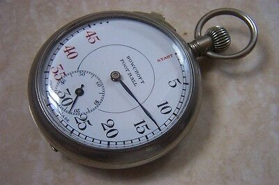 AN EARLY HOWCROFT FOOTBALL REFEREE'S STOPWATCH c. 1920