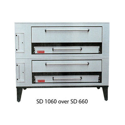 Marsal SD-866 STACKED Gas Deck Type Pizza Oven