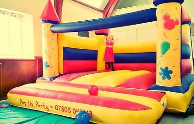 Commercial bouncy castle 15' x 15' used a handful of times