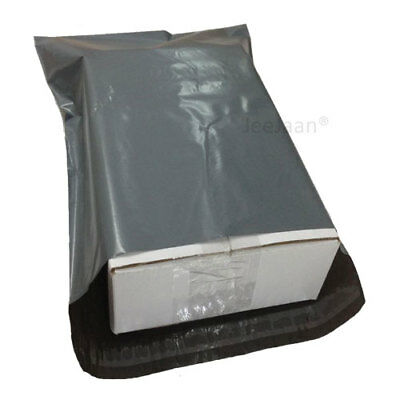 5000 Strong Poly Mailing Postage Postal Bags Quality Self Seal Grey Mailers