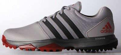 Adidas 360 Traxion Golf Shoes Onix/black/scarlet -New  2017