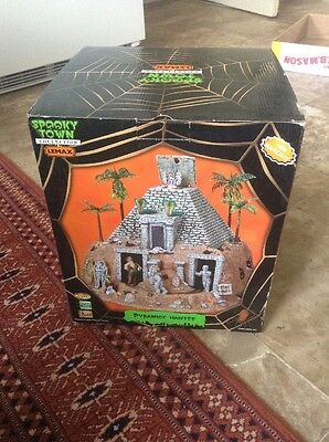 Lemax 2008 Spooky Town Collection Haunted Pyramid Mummy Halloween Decoration