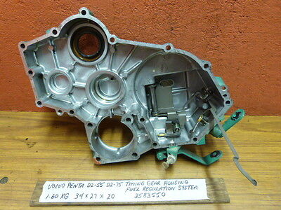$365USD Volvo Penta D2-55 D2-75 Timing Gear Housing With Fuel Regulation System