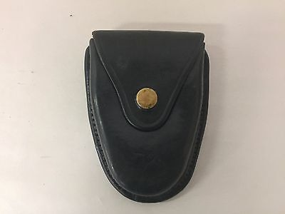 Vintage Smith & Wesson Black Leather Handcuff Pouch B70
