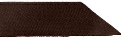 Signature Double Face Satin Ribbon - 850 Brown - 7mm - Full Roll