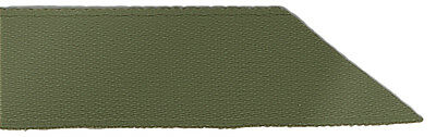 Signature Double Face Satin Ribbon - 570 Moss Green - 23mm - Full Roll