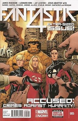 Fantastic Four #5 Vol.5 Extra-Sized Issue NM
