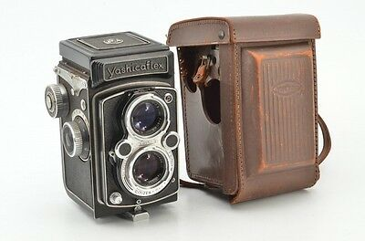 Yashica Yashicaflex model B TLR Camera w/ 80mm F3.5 Lens from JAPAN, EXC!! #3740