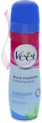 Veet Easy Haarentfernungscreme-Spray Sensitive Skin 150 ml Aloe Vera & Vitamin E