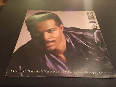 Ray Parker Jr.  I Don't Think That Man Should Sleep Alone / After Midnite. 1987