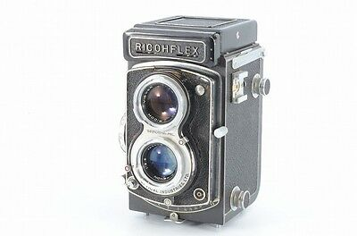 Ricohflex DIA L TLR Camera with Rikenon 80mm f3.5 Lens from JAPAN **READ** #2712