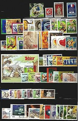 FRANCE ANNEE COMPLETE 1999 inc3 BLOCS FEUIL. NEUF SS CHARNIERE ** COTE 177 euros