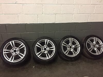 "Genuine BMW 3 Series 4 Series 18"" Alloys Alloy Wheels With Tyres"