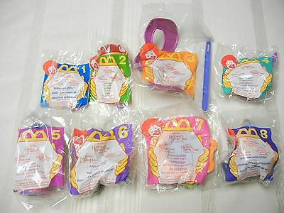 McDONALD'S TOYS - THE HUNCHBACK OF NOTRE DAME -  SET OF 8 - 1996 - NEW IN PKG.