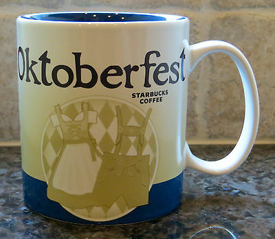 NWT Starbucks 2015 OKTOBERFEST Munchen Germany Global Icon City Collector Mug