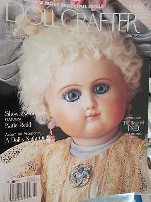 Doll Crafter May 1997 Magazine -Beautiful P4D/Satin & Fur Booties/May Blossoms/S