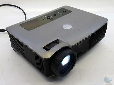 Dell DLP 5100MP Front Projector w HDMI VGA Component Composite 3 Lamp Hours