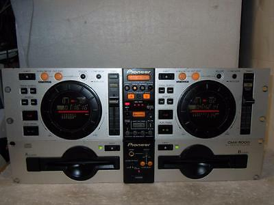 Pioneer Cmx-5000 Great Dj Cd Double Player-Superb Quality
