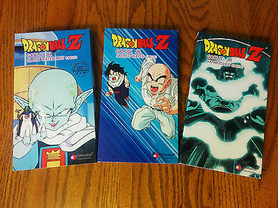 Dragon Ball Z Garlic Jr Saga Vhs 3 Tape Set Uncut Version 12 95 Picclick Every dragon ball series, theatrical film, tv special, festival short and ova in watching order. dragon ball z garlic jr saga vhs 3