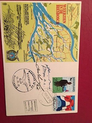 RAF FDC 1972 Escaping Society Signed