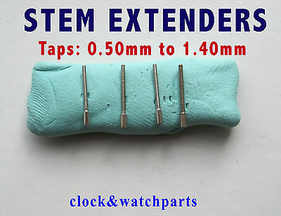 WATCH WINDER EXTENSION, Watch Stem Extender, 26 sizes available, 0.50mm - 1.40mm