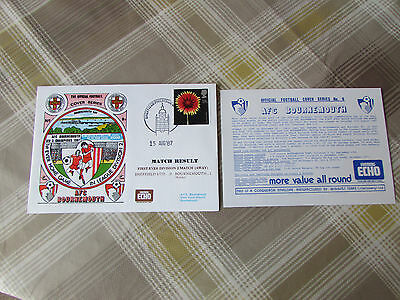 BOURNEMOUTH 1987 First Away Game in Division 2 Official FOOTBALL Series Cover