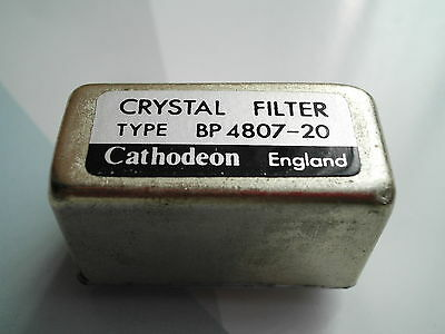 Cathodeon Bp 4807-20 Crystal Filter