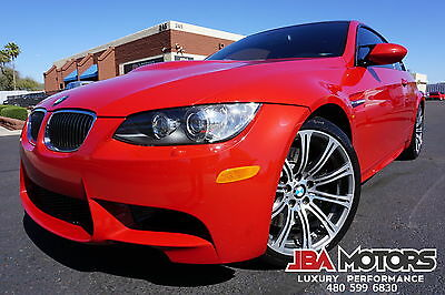 2009 BMW M3 09 BMW M3 Coupe 2009 Red Coupe!
