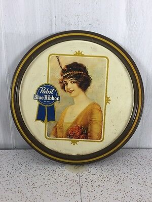 Pabst Blue Ribbon Beer Tray Vintage