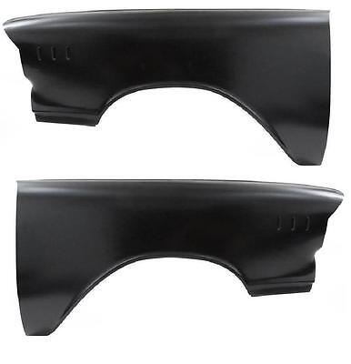 1957 Chevy Front Fender Pair Lh + Rh - Without Molding Trim Holes