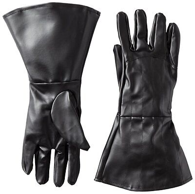 Star Wars Darth Vader Gloves, Black, Adult Halloween Party Dressup Costumes