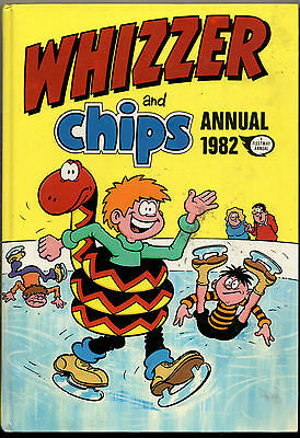 Whizzer & Chips Annual 1982