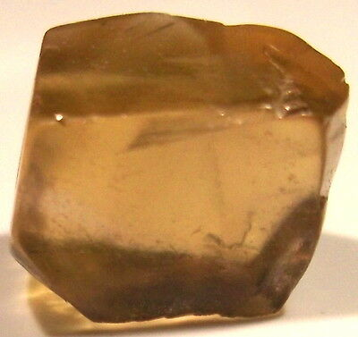 13.70 Carats, Internally Flawless Champagne Citrine Facet Rough From Bolivia