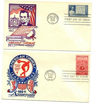 A collection of Covers, First Day Covers and a Postcard from North America