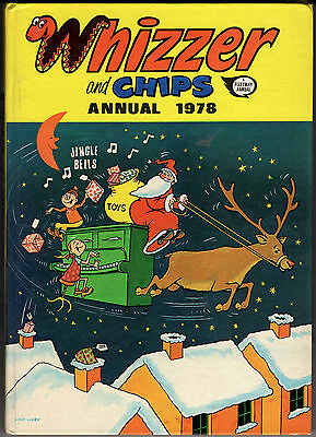 Whizzer & Chips Annual 1978