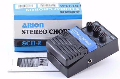 ARION SCH-Z Stereo Chorus Guitar Effects Pedal BRAND NEW Box and Manual