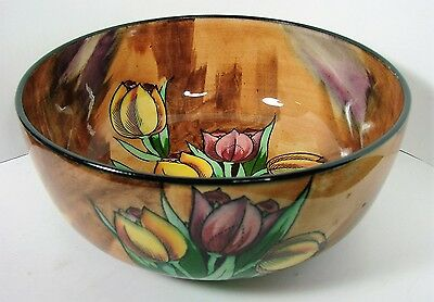 Vintage Rare Gorgeous H&K TUNSTALL  Bowl Made in England 1930's