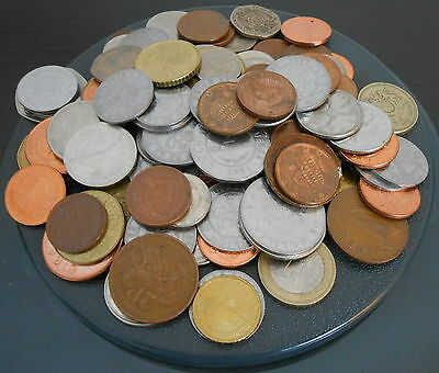 Lot of 1 lb Foreign Coins