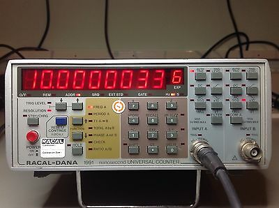 Racal Dana 1991 Nanosecond Universal Frequency Counter 160Mhz