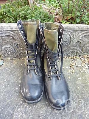 US Army Vietnam War 1968 Jungle Boots Size 8N Spike Protective