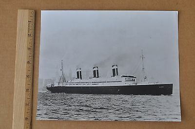 UNITED STATES LINES S.S. LEVIATHAN (ex VATERLAND) PHOTOGRAPH