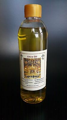 Blessed Anointing Holy Olive Oil Sepulcher Church Jerusalem 240ml  Keepsake