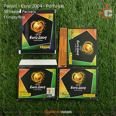 Panini - Euro EM 2004 Portugal - Stickers - 50 Packets