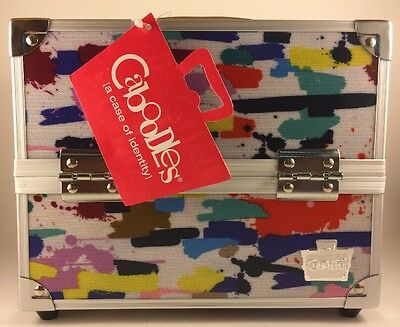 Caboodles Adored Four Tray Makeup Train Case, 2.45 Pound New