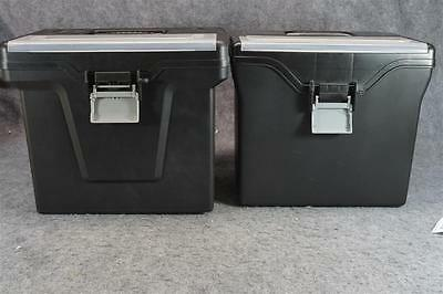 Portable Letter Size Hanging File Box Office Storage Organization X 2
