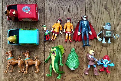 Scooby Doo And Monsters Bundle Of Figures And Vehicles