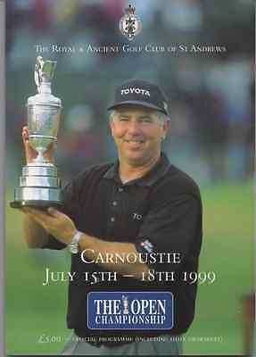 1999-128th OPEN CHAMPIONSHIP-LAWRIE-SCOTLAND @CARNOUSTIE-OFFICIAL GOLF PROGRAMME