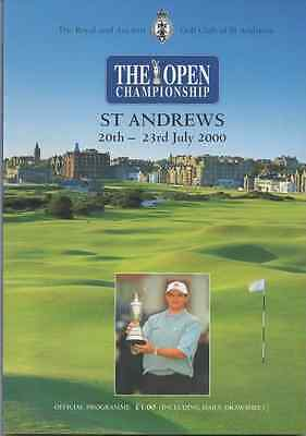 2000-129th OPEN CHAMPIONSHIP-TIGER WOODS-USA @ST ANDREWS-OFFICIAL GOLF PROGRAMME